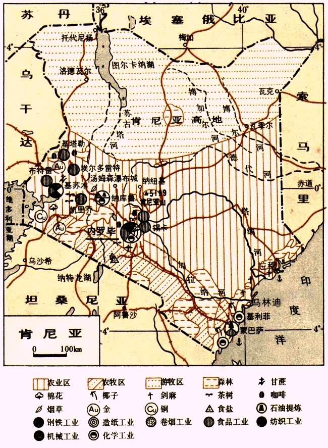 坦桑尼亚地图_坦桑尼亚面积和人口